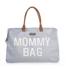 Mommy Bag Big Grey Off White