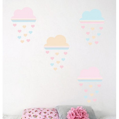Wall sticker clouds withs stars