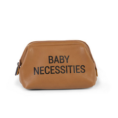 "Childhome ""Baby Necessities"" toaletna torbica - Leatherlook smeđa"