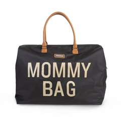 Torba Mommy Bag Big Black Gold
