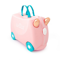 Trunki kovček Flossi Flamingo