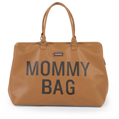 Torba Mommy Bag leatherlook brown Childhome
