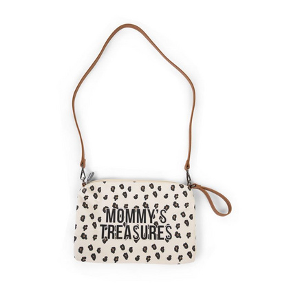Childhome torbica Mommys Treasures - Canvas Leopard