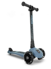 Otroški skiro Scoot&Ride - Highwaykick 3 LED Steel
