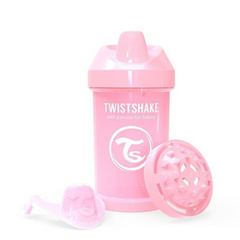 Twistshake® Crawler cup 300ml Pastel Pink