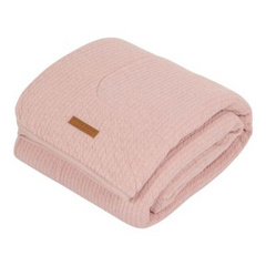Odejica pure & soft Little Dutch - Pure Pink 70x100