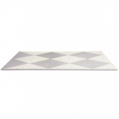 Tappeto componibile Play Spots Skip Hop - Grey/Cream