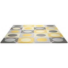 Tappeto componibile Play Spots Skip Hop - Grey/Gold